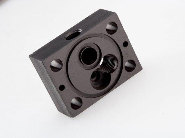 CNC Milling Machining Aluminum Manifold Block
