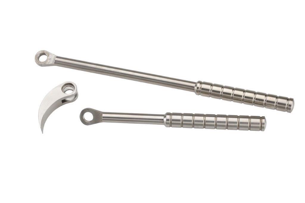 CNC Swiss Machining Steel Pry Bar Tool
