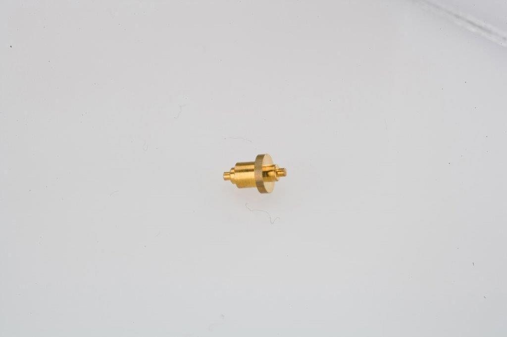 CNC Swiss Machining Brass Nozzle