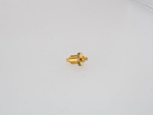 CNC Swiss Machining Brass Nozzle