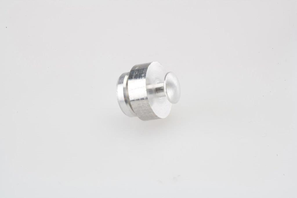 Screw Machine Products Turned Parts Aluminum Button