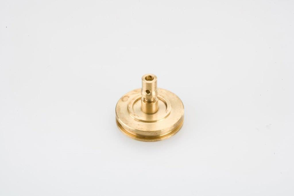 CNC Swiss Machining Brass Pulley