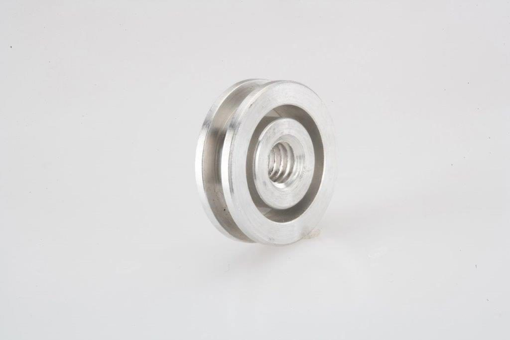 Screw Machine Products Turned Parts Aluminum Roller
