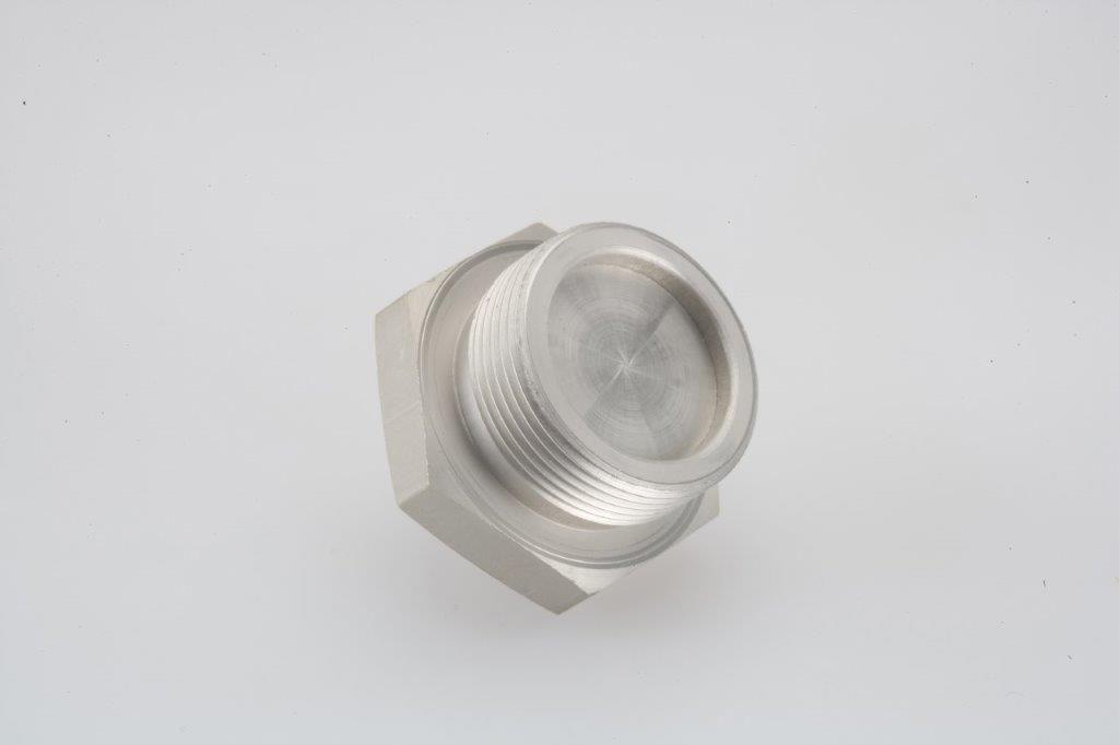 Screw Machine Products Turned Parts Aluminum Cap