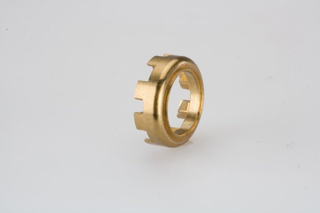 CNC Turning Machining Brass Locking Collar