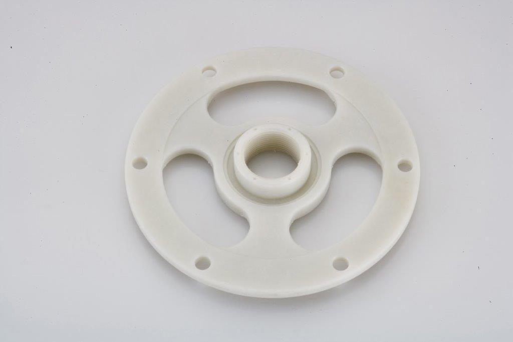 CNC Turning Machining G-10 Plastic Plastic Machined Part