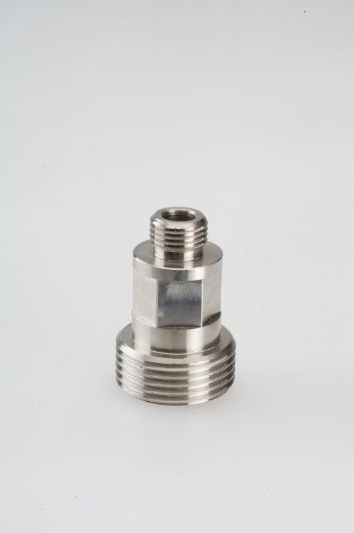 Screw Machine Products Turned Parts Steel Coupling