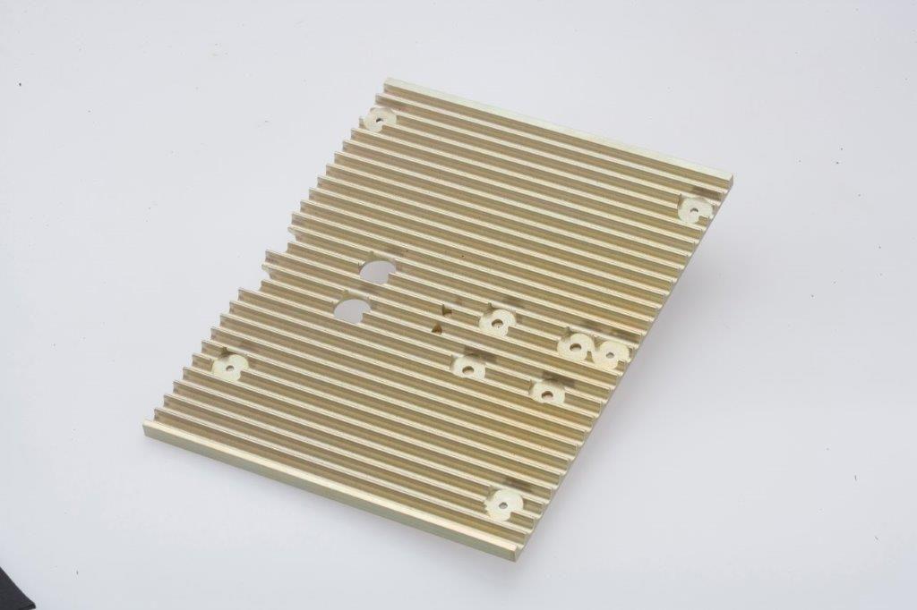 CNC Milling Machining Aluminum Face Plate Military Enclosure