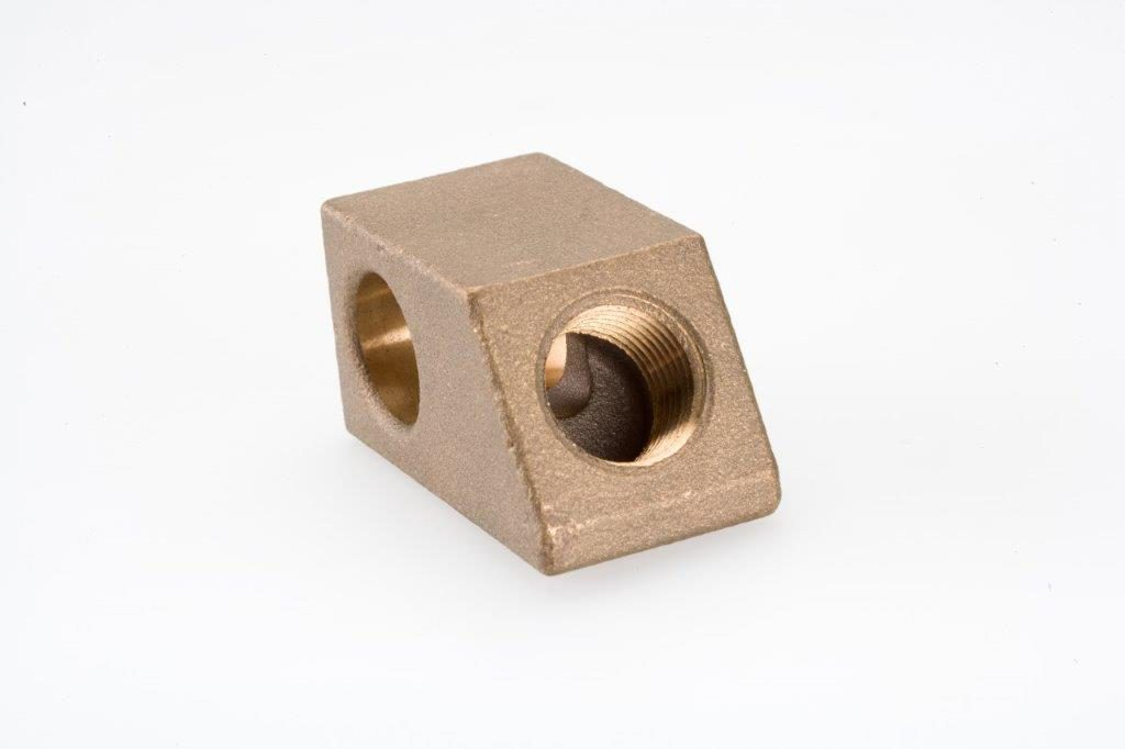 CNC Milling Machining Bronze Support Block