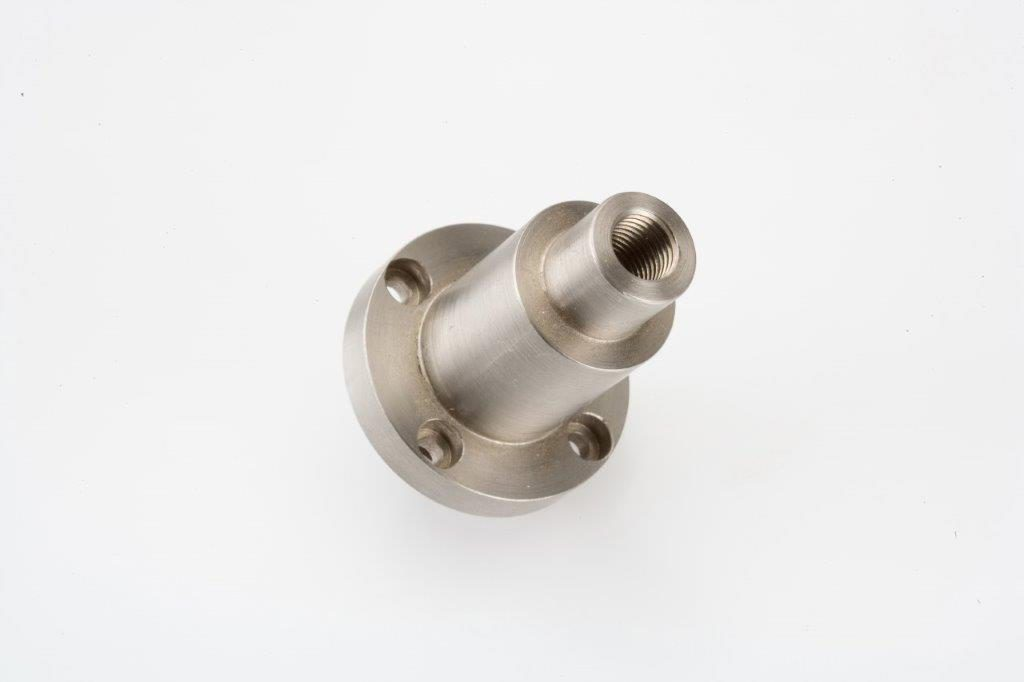 CNC Turning Machining Stainless Steel Flanged Support