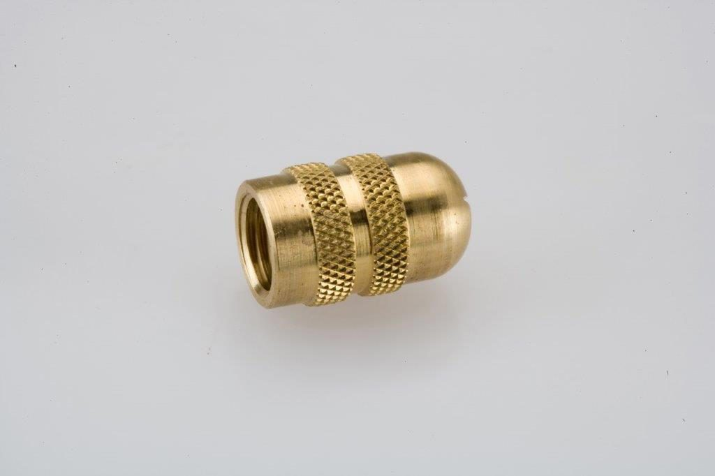 Screw Machine Products Turned Parts Brass Nozzle